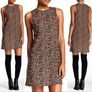"American Apparel ""The Olivia"" Leopard Dress XS"